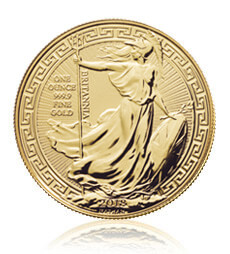 Britannia 2018 Oriental Border 1 oz Gold Coin