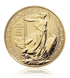 2018 Britannia Oriental Border - 1 oz Gold Bullion Coin