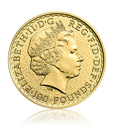 2015 Britannia 1 oz Gold Bullion 10 Coin Tube