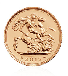 The Half Sovereign 2017 Gold Coin