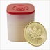 2017 1 oz Canadian Maple Leaf Gold Ten Coin Tube